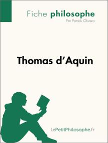 Thomas d'Aquin (Fiche philosophe): Comprendre la philosophie avec lePetitPhilosophe.fr