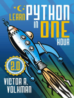 Learn Python in One Hour