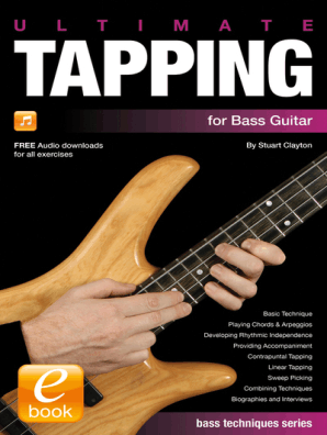 Ultimate Tapping for Bass Guitar by Stuart Clayton - Read Online