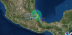 Franklin Downgraded To Tropical Storm As It Moves Across Mexico