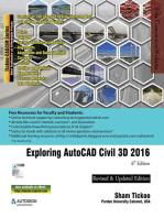 Exploring AutoCAD Civil 3D 2016