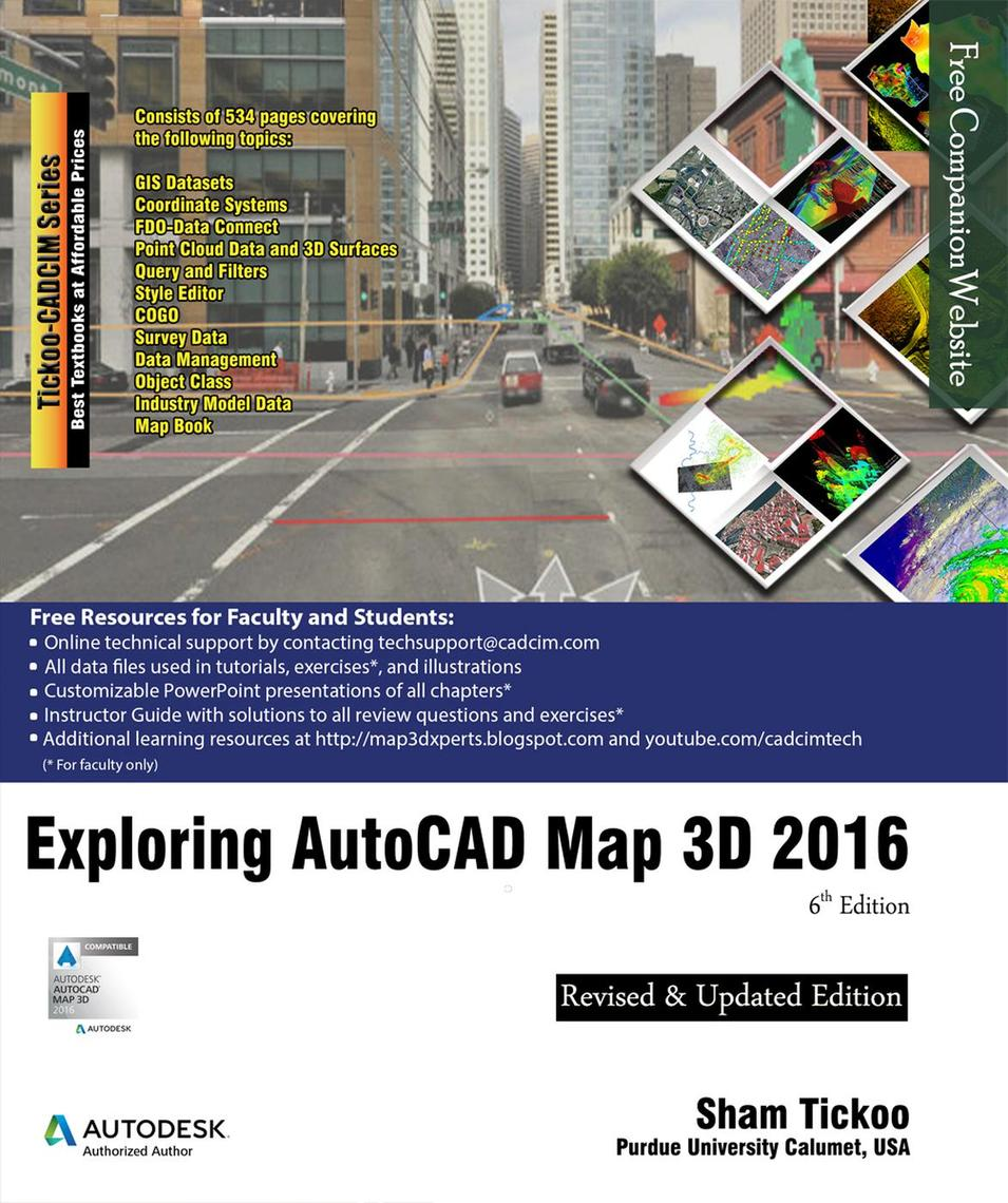 Exploring AutoCAD Map 3D 2016 by Sham Tickoo - Book - Read Online