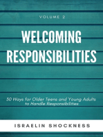 Welcoming Responsibilities-30 Ways for Older Teens and Young Adults to Handle
