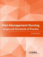 Pain Management Nursing: Scope and Standards of Practice, 2nd Edition