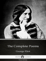The Complete Poems by George Eliot - Delphi Classics (Illustrated)