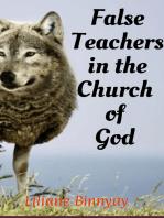 False Teachers in the Church of God
