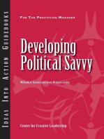 Developing Political Savvy