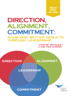 Direction, Alignment, Commitment