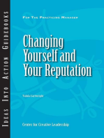 Changing Yourself and Your Reputation