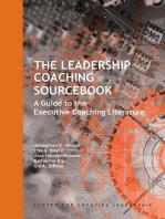 The Leadership Coaching Sourcebook