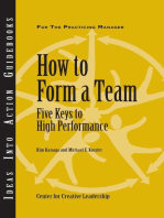 How to Form a Team