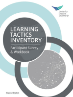 Learning Tactics Inventory: Participant Survey and Workbook