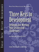 Three Keys to Development