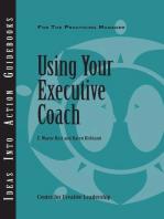 Using Your Executive Coach
