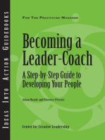 Becoming a Leader Coach