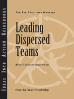 Leading Dispersed Teams