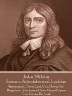 Samson Agonistes and Lycidas