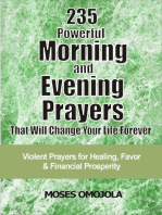 235 Powerful Morning And Evening Prayers That Will Change Your Life Forever