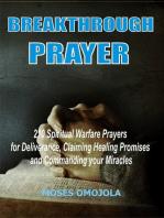 Breakthrough Prayers