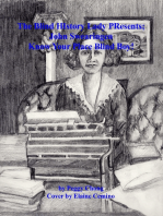 The Blind History Lady Presents; John Swearingen-Know Your Place Blind Boy!
