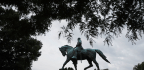 Sitting 26-Feet-High Atop A Horse, Gen. Lee Becomes A Lightning Rod For Discontent
