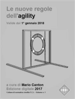 Le nuove regole FCI dell'agility (valide dal 1° gennaio 2018).