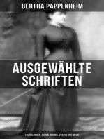 Ausgewählte Schriften von Bertha Pappenheim