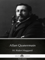 Allan Quatermain by H. Rider Haggard - Delphi Classics (Illustrated)