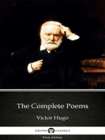 The Complete Poems by Victor Hugo - Delphi Classics (Illustrated)