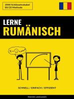 Lerne Rumänisch