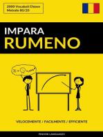 Impara il Rumeno