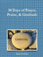 30 Days of Prayer Praise & Gratitude