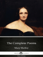 The Complete Poems by Mary Shelley - Delphi Classics (Illustrated)