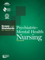 Psychiatric-Mental Health Nursing: Scope and Standards of Practice