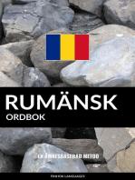 Rumänsk ordbok: En ämnesbaserad metod