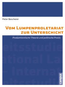 Vom Lumpenproletariat zur Unterschicht: Produktivistische Theorie und politische Praxis