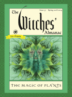 The Witches' Almanac: Issue 37, Spring 2018 to 2019: The Magic of Plants