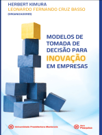 Modelos de tomada de decisão para inovação em empresas