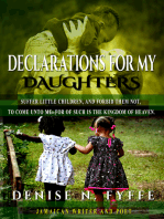 Declarations for My Daughters