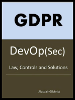 GDPR for DevOp(Sec) - The laws, Controls and solutions