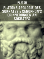 Platons Apologie des Sokrates & Xenophon's Erinnerungen an Sokrates