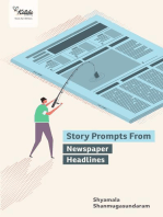 Story Prompts from Newspaper Headlines