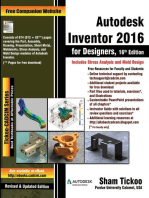 Autodesk Inventor 2016 for Designers