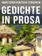 Gedichte in Prosa