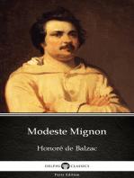 Modeste Mignon by Honoré de Balzac - Delphi Classics (Illustrated)