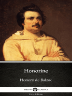 Honorine by Honoré de Balzac - Delphi Classics (Illustrated)