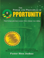 The Power And Principles Of Opportunity