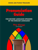 Pronunciation Guide for Second Language Speakers of the English Language (The Clergy)