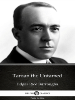 Tarzan the Untamed by Edgar Rice Burroughs - Delphi Classics (Illustrated)