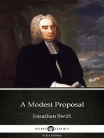 A Modest Proposal by Jonathan Swift - Delphi Classics (Illustrated)